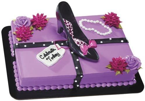 Prime Amazon Com High Heel Shoe Birthday Cake Kit Cake Stands Funny Birthday Cards Online Necthendildamsfinfo
