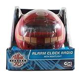 Digital Blue Bakugan Red Alarm Clock Radio by Digital Blue