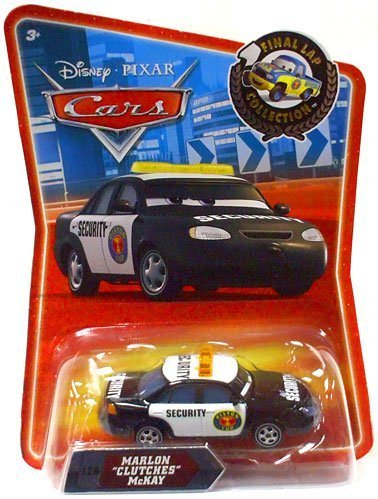 Disney / Pixar CARS Movie Exclusive 155 Die Cast Car Final Lap Series Marlon Clutches McKay (Toy Clutch)