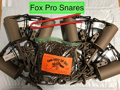6 Duke DP Dog Proof Raccoon Traps, 1 DP Setter & 1 Coon Gitter Bait