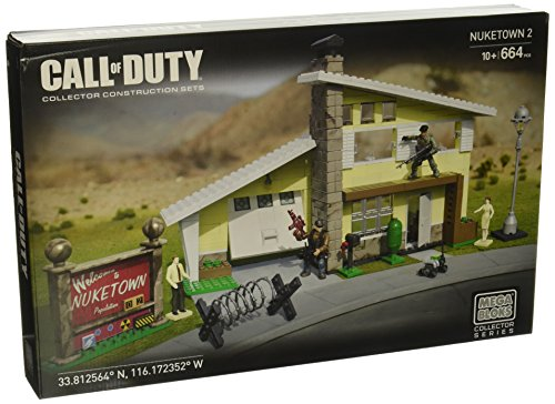Mega Bloks Call of Duty Nuketown II Set #38167