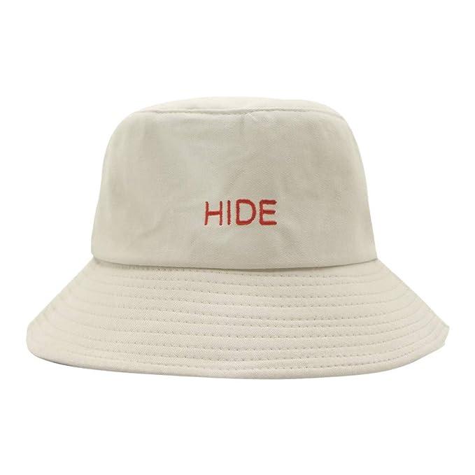 Rcool Gorras de béisbol Viseras Gorro de pescador Pamelas Sombreros Panamá, Sombrero de mujer Sombrero de lavabo cómodo Sombrero de pescador C: Amazon.es: ...