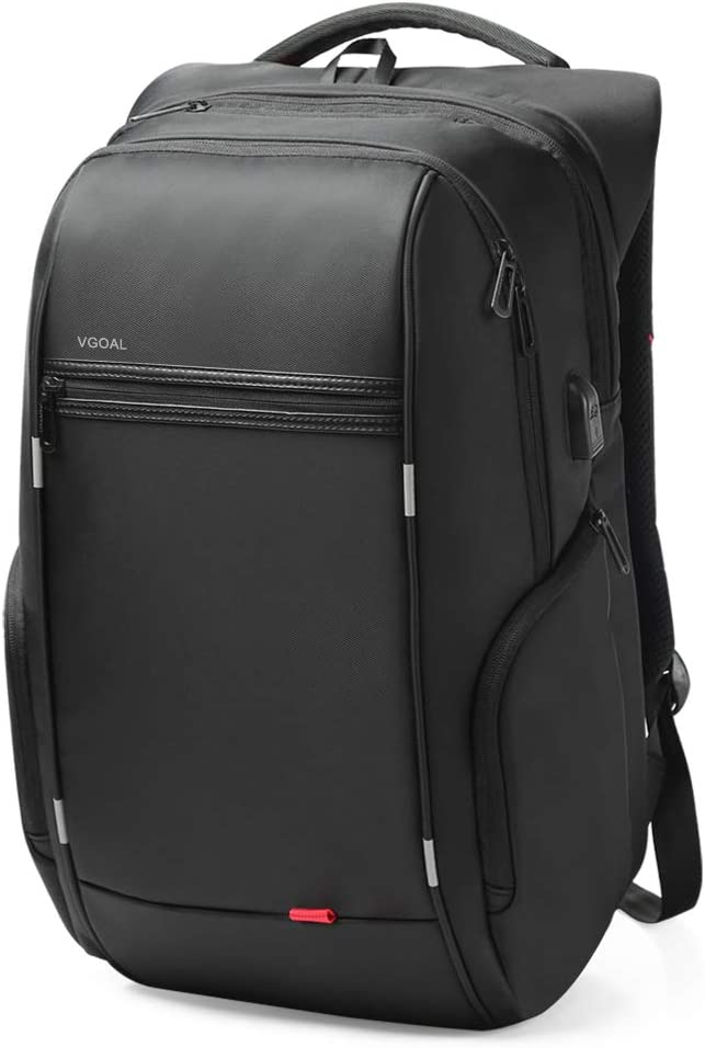 VGOAL Large Laptop Backpack,Anti Theft Business Backpack with USB Charging Port Computer Bag Travel School Rucksack Packing Fit 17.3 inch Laptop For Men And Women