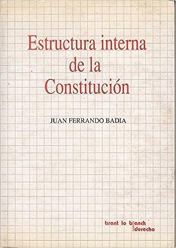 Estructura Interna De La Constitución Derecho Spanish