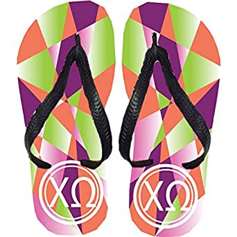 Chi Omega Flip Flops (Small)