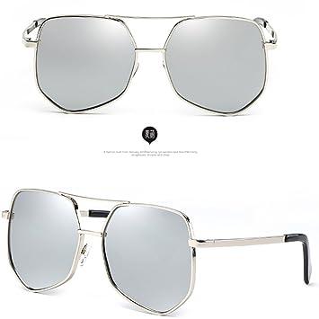 0b31a87b83 DT Gafas de Sol Hombre Mujer Gafas de Sol polarizadas Gafas Coreanas  Delgadas (Color : 1): Amazon.es: Hogar