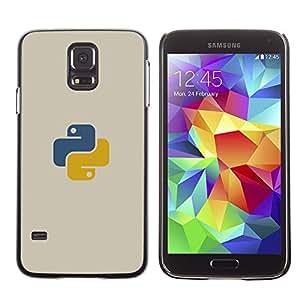 Azul Amarillo OYAYO Samsung Galaxy S5 //Dise?os frescos para todos los gustos! Top muesca protección para su teléfono inteligente!