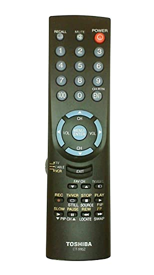 Amazon toshiba ct9952 television remote control discontinued toshiba ct9952 television remote control discontinued by manufacturer sciox Gallery