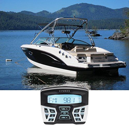 Hifonics TPS-MR1 Marine Gauge Hole Mount Bluetooth Receiver Radio Stereo 4 Boat ()