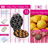 Electric 12 Party Pop Cake Donut Cupcake Maker Machine