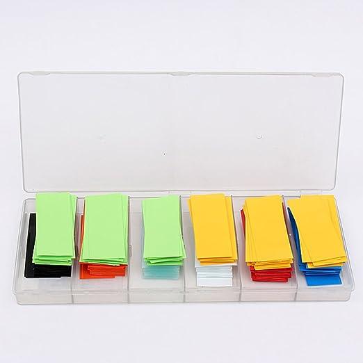 8 opinioni per Dealglad® guaine termorestringenti per batterie 18650 18500, 280 pezzi, 8 colori