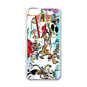 iphone5c phone case White Mickey's Magical Christmas Snowed in at the House of Mouse QWE0534490