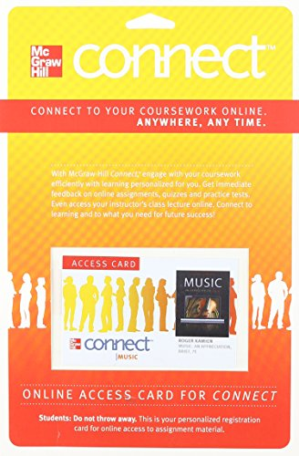Connect Music Access Card For Music: An Appreciation, Brief Edition