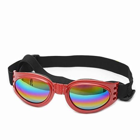 Monbedos Gafas de Sol para Perro, Gafas de Sol Plegables ...