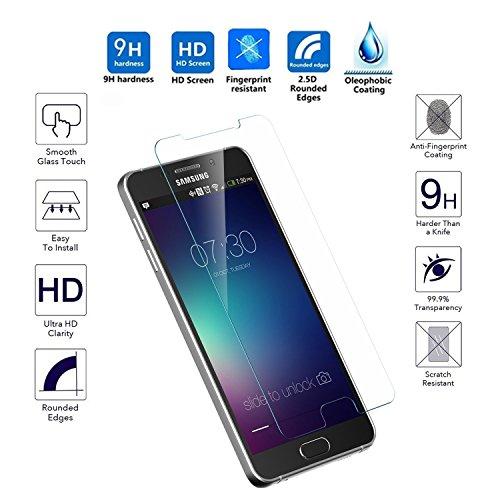 S.p.A Samsung Galaxy Note 5 Tempered Glass Screen Protector, Ballistics Glass 0.3mm...