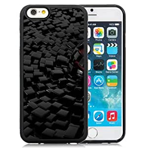New Beautiful Custom Designed Cover Case For iPhone 6 4.7 Inch TPU With Sphere Sinking In Cubes Phone Case
