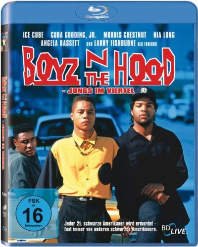 Boyz'n the Hood-Jungs Im Viertel [Blu-ray] [Import allemand]