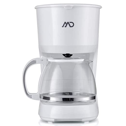 MD homelectro mcm-4006 W cafetera filtro blanca 10 tasses-1.25l ...