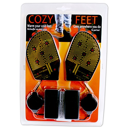 Cozy Products CF Cozy Feet AA Battery Powered Reusable Shoe Inserts