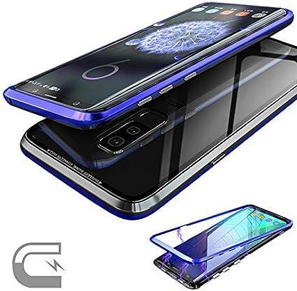 JUNHENG Funda Sumsung Galaxy S9 Plus, Magnética ...