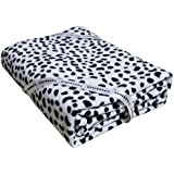 "TanBridge Soft Couch Sofa Throw Blanket Summer Lightweight Home & Office Blanket - Size 60"" x 50"" (Dalmatian Pattern)"