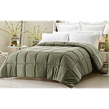 web linens inc super oversized down alternative comforter fits pillow top beds. Black Bedroom Furniture Sets. Home Design Ideas
