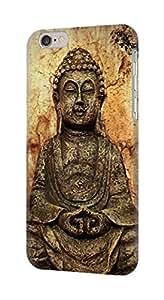 E0344 Buddha Rock Carving Funda Carcasa Case para IPHONE 6S PLUS