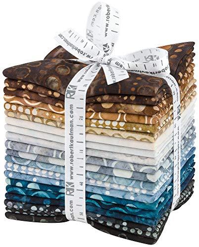 Lunn Studios Artisan Batiks Roundabout 20 Fat Quarters Robert Kaufman Fabrics FQ-1430-20