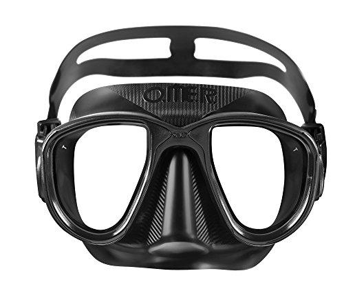(Omer Alien Mask, Black Silicone)