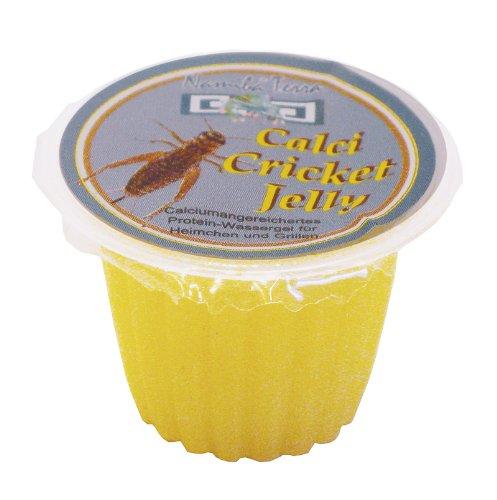 Namiba Terra 0346 CalviRep Calci Cricket Jelly für Heimchen und Grillen, Nachfüllpackung 16 g, 50-Stück im Beutel Nachfüllpackung 16 g 50-Stück im Beutel