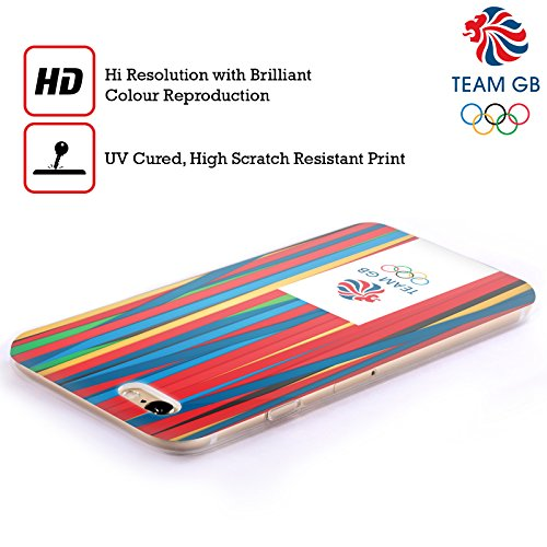 Official Team GB British Olympic Association Bahia Background Rio Soft Gel Case for Apple iPhone 4 / 4S