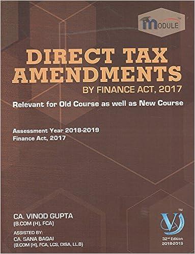 Ca book for direct tax vinod final gupta