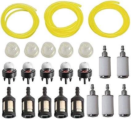 Fuel Line Fuel Filter Primer Bulb for STIHL  Chainsaw Trimmer etc