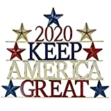 "Direct Metal 2020 Keep America Great Trump Sign 29"" x 23.5"" Red, White and Blue - Patriotic -Republican Support"