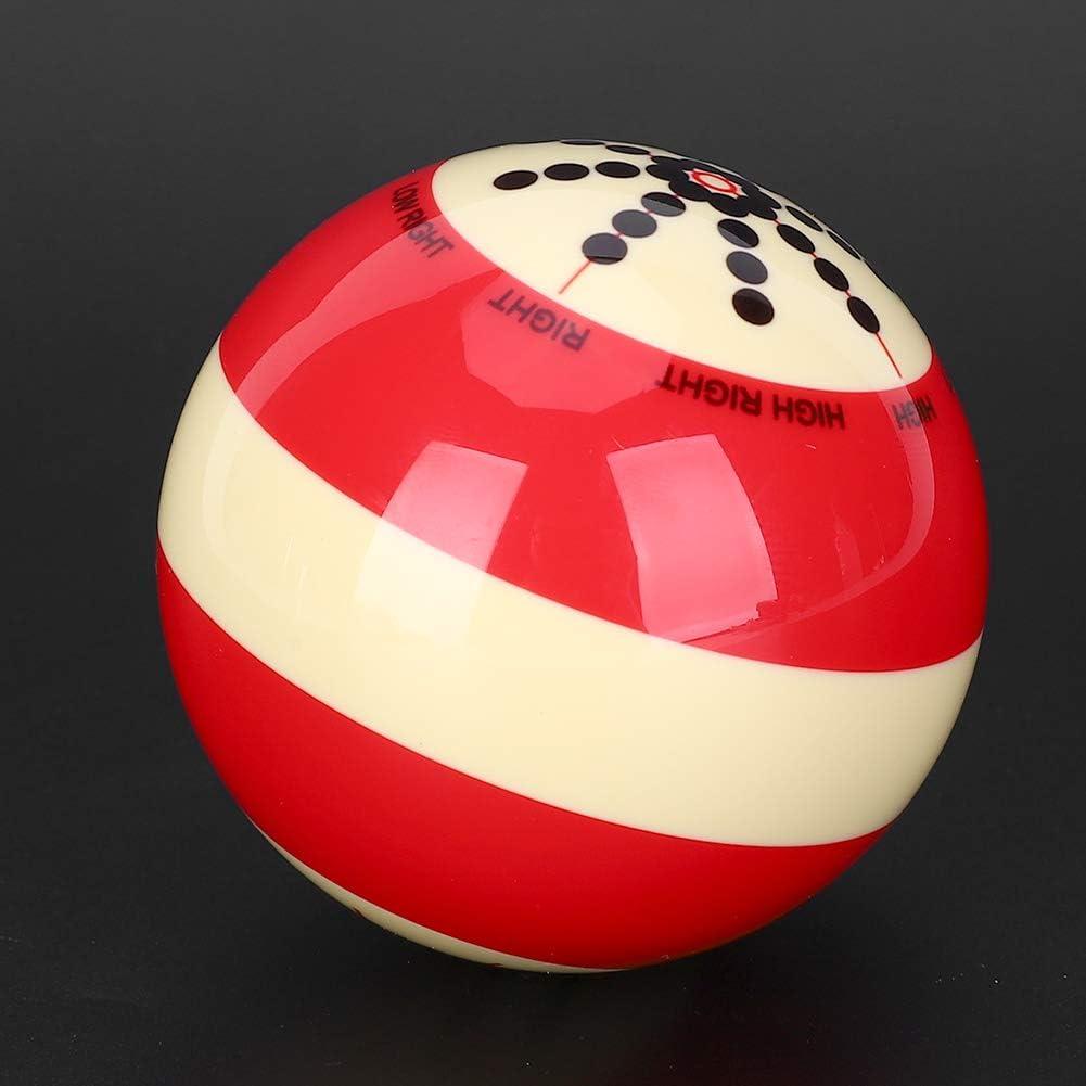 Ruiqas Bolas Profesionales de Entrenamiento Bola de Billar Port/átil Pr/áctica de Entrenamiento Accesorio de Asistencia para La Piscina de Ocho Bolas de Am/érica