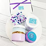 Mermaid Gifts for Women. Let's Be Mermaids Bath Boxed Spa Gift Set. Bath bomb. Body Scrub. Lotion