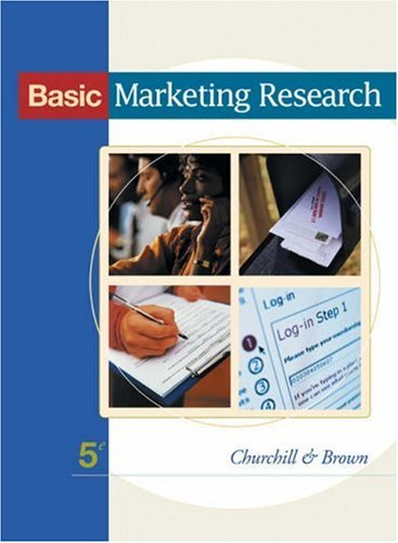 Basic Marketing Research (with InfoTrac)
