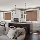 Chicology Faux Wood Blinds / window horizontal