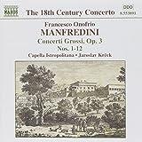 Manfredini: Concerti Grossi Op.3, No. 1-12