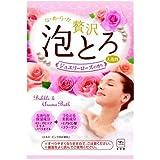 牛乳石鹸共進社 贅沢泡とろ 入浴料 ジュエリーローズの香り 30g