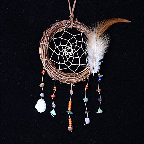 LingStar Vintage Handmade The Twilight Saga Vine Dreamcatcher Home Decoration Girls Gifts