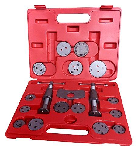 Kaupa Break Caliper wind Back Tool Set Wind Back Tool Kit Disc Brake Caliper Piston Pad Car -18 Piece