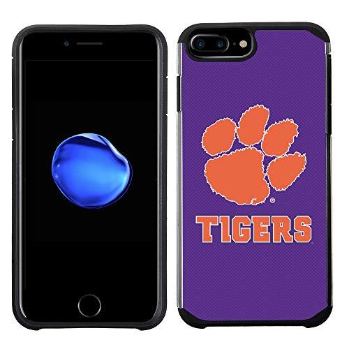 - Prime Brands Group Textured Team Color Cell Phone Case for Apple iPhone 8 Plus/7 Plus/6S Plus/6 Plus - NCAA Licensed Clemson University Tigers