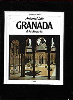 Granada de los nazaries (Ciudades en la historia) (Spanish Edition)