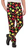 Men's Peppers Print Chef Pant (XS-3X) (Medium)