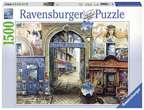 Ravensburger Passage to Paris 1500 Piece Jigsaw Puzzle for Adults - Softclick Technology Means Pieces Fit Together Perfectly