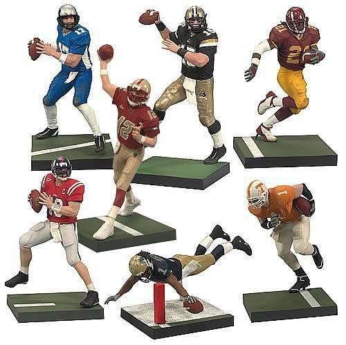 Mcfarlane College Football Series 2 Figures Set Of 7
