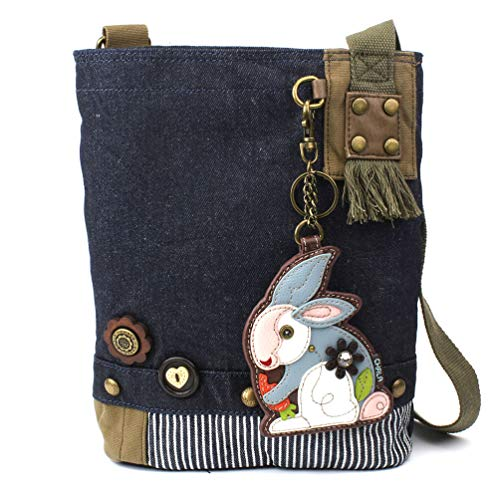 Chala Patch Crossbody - Rabbit- Denim