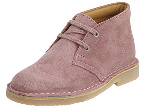 CLARKS Infant/Toddler Girls' Desert Boot Toddler,Vintage Pink Suede,US 13 W (Best Price Clarks Desert Boots)