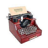 Caja de música Alytimes Vintage Typewriter para el hogar /oficina /decoración de sala de estudio